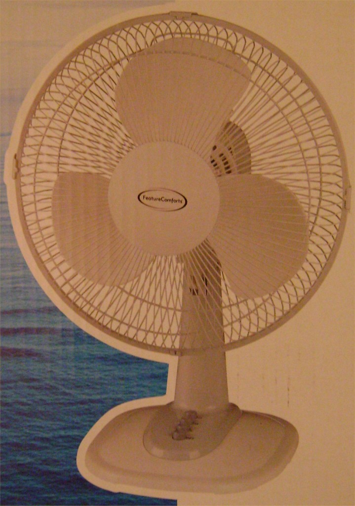 Feature Comforts 12 Quot Table Fan White New 3 Speed Setting
