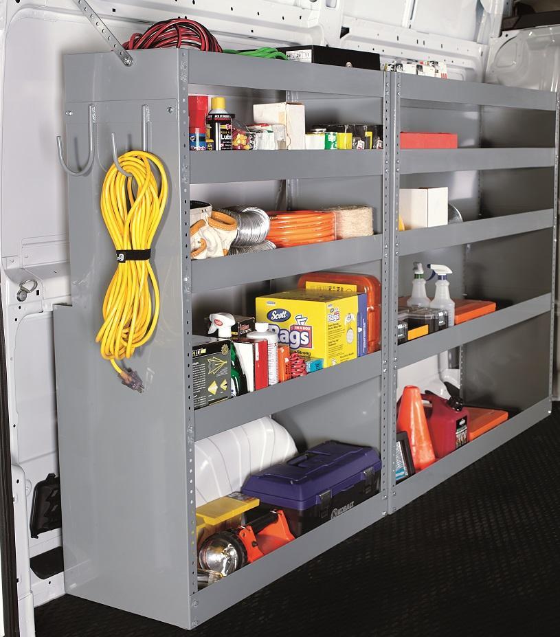 Truck Amp Van Shelving Shelf And Bin Systems American Van