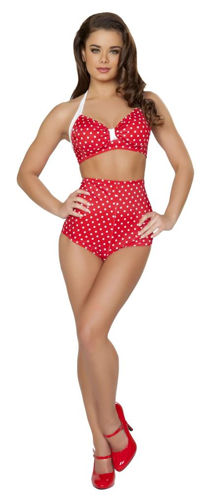 Buy women's high-waisted bikinis in bulk here at low price. Dear-Lover cheap high waist swimwear wholesale global with days fast delivery.
