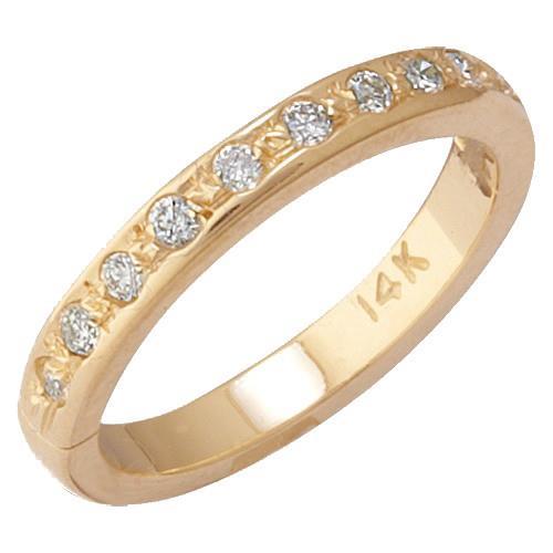 14k-Yellow-Gold-Eternity-Diamond-Toe-Ring-band-body-jewelry