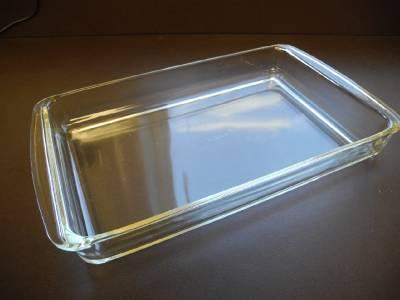 pyrex clear glass rectangular casserole dish brownie cake lasagna pan 13 x 9 ebay. Black Bedroom Furniture Sets. Home Design Ideas