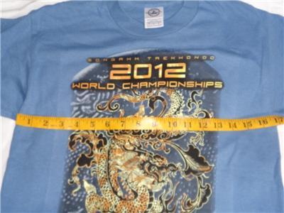 NEW 2012 ATA WORLD CHAMPIONSHIPS T SHIRT BLUE SIZE CHILD SMALL~FREE US SHIP ~