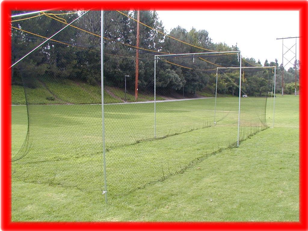 Back Yard Nylon Baseball Batting Cage NEW 50 x 12 x 12   eBay