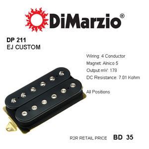 Astounding Dimarzio Dp211 Ej Custom Neck Humbucker Pickup 4 Conductor Alnico Wiring Digital Resources Nekoutcompassionincorg