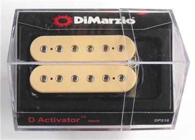 DiMarzio® D Activator Neck Humbucker Pickup~Reg Spaced~Creme~USA~DP219~nd on