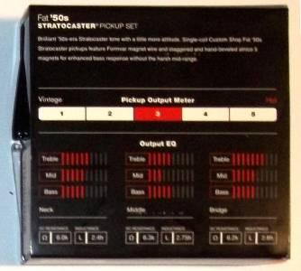 Details about Fender® Custom Shop Fat `50s Stratocaster Pickup Set~099-2113-000~USA~nd on