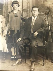 ANTIQUE FAMILY PORTRAIT 1920s 1930 MAFIA ITALIAN NY ...