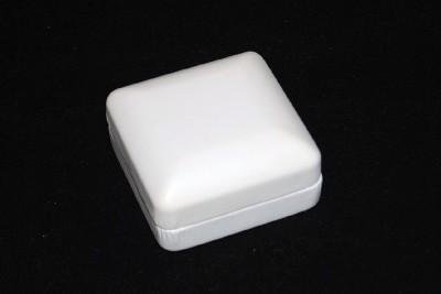 New 6 White Leatherette Jewelry Gift Boxes 25 Box eBay