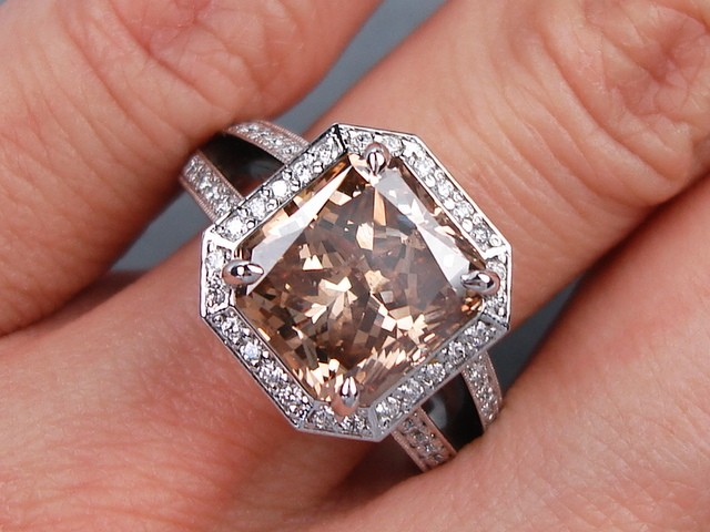 Ebay Chocolate Diamond Rings