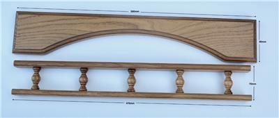 Kaba N613V25SCP Door Handle N600 Narrow Style Plate w// Turn /& Lever