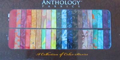 Phrase, anthology batik strip were