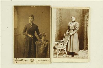 Vintage Carte De Visite CDV Photo Lot All Women Civil War Era