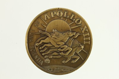 NASA SPACE APOLLO 13 XIII Mission Commemorative Brass Coin ...