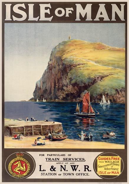 Vintage Isle Of Man 8