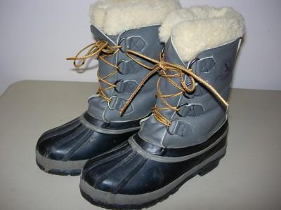 Vintage WOMENS Sz 8 EDDIE BAUER Snow Pac BOOTS Winter Mens