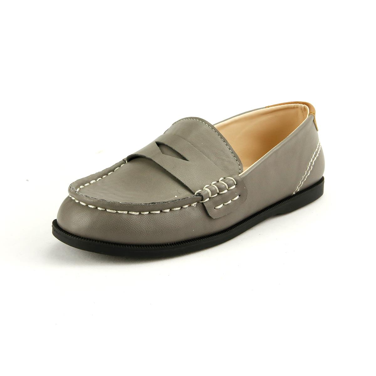 Black And Grey Boat Shoes