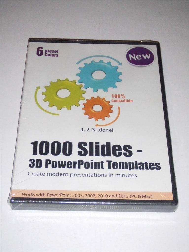 1000 slides 3d powerpoint templates create modern presentations pc pictured is the actual item toneelgroepblik Image collections