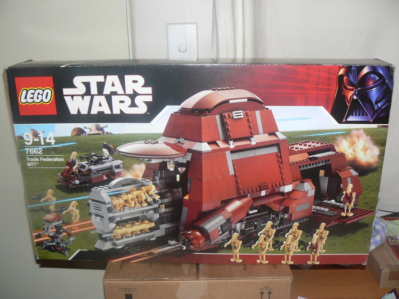 Lego Star Wars MTT Droid Carrier 7662 99 9 Boxed EXC on