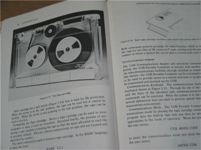 IBM 5100 Portable Computer Operation Programming Book 570