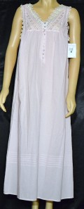 2b75856fca New NWT 100% Cotton Lawn Pink Eileen West Nightgown~XL  72 on PopScreen