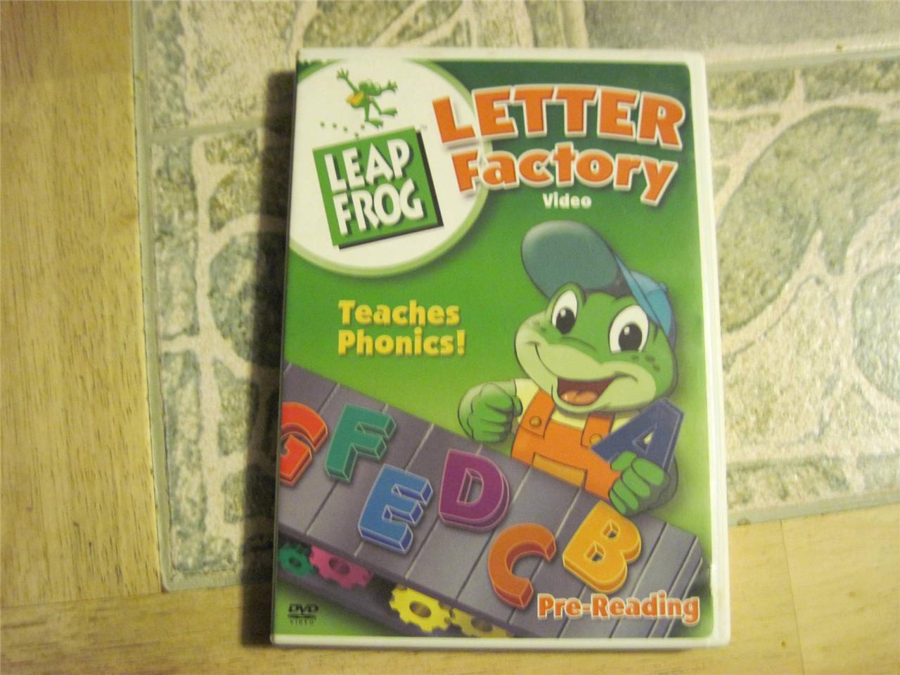 Details about LeapFrog Letter Factory DVD