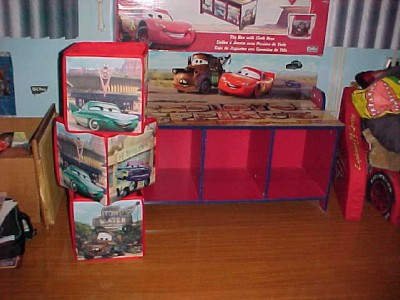 Disney Pixar Cars Bench Seat With Storage Ebay