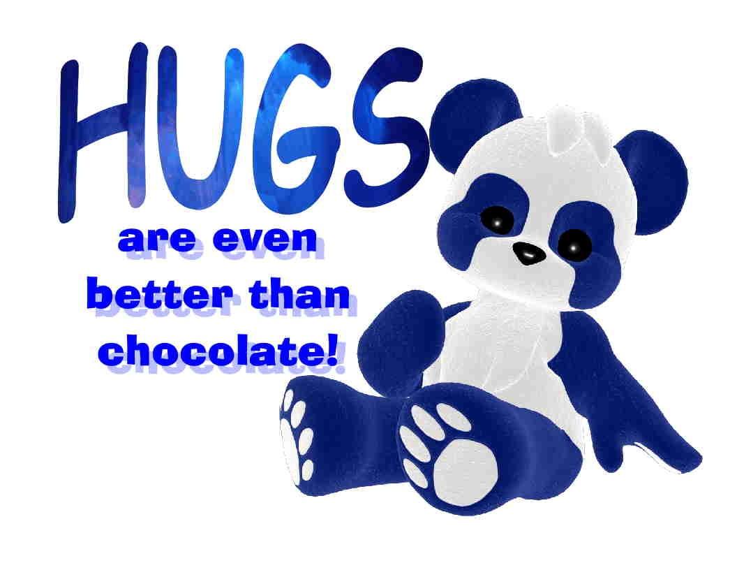 Custom Made T Shirt Hugs Better Than Chocolate Adorable ...