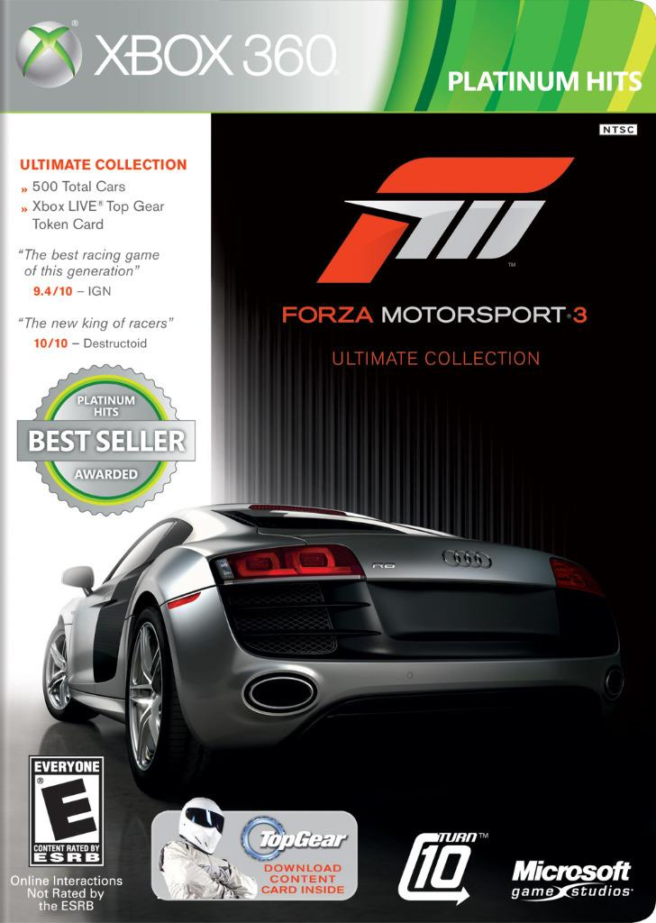 xbox 360 forza motorsport 3 ultimate collection game. Black Bedroom Furniture Sets. Home Design Ideas