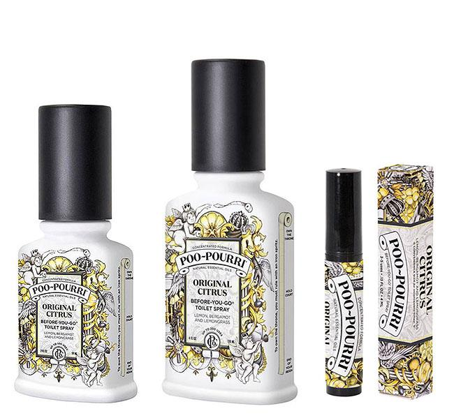 Poo-Pourri Original CITRUS Toilet Bathroom Spray Essential ...