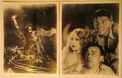 King Kong And Fay Wray With Robert Armstrong And Bruce