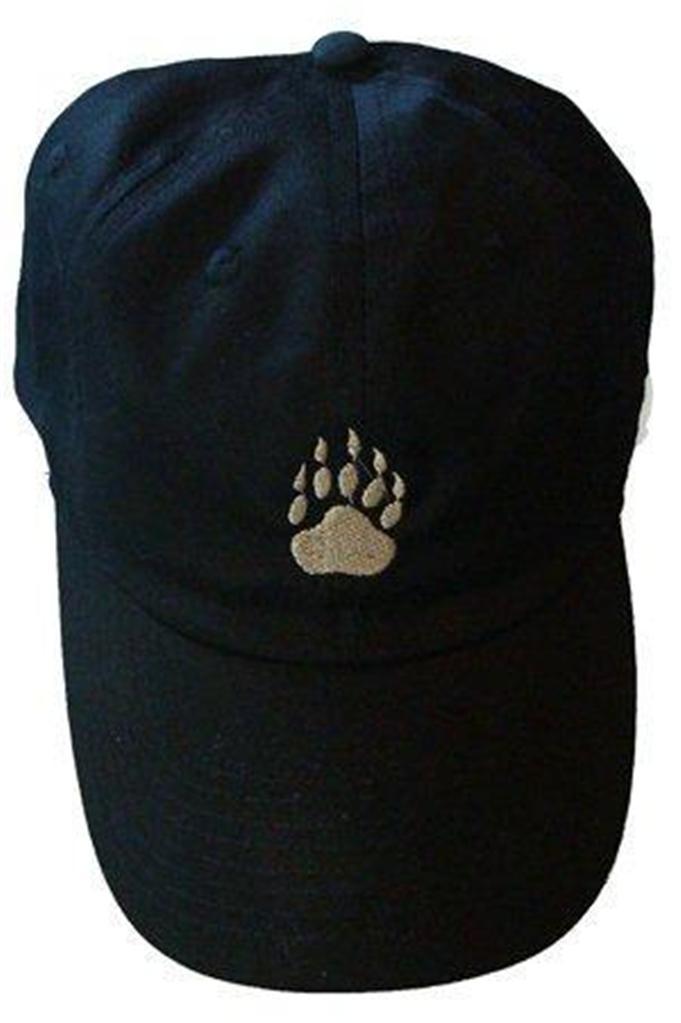 gay bear pride baseball cap bear paw ball hat