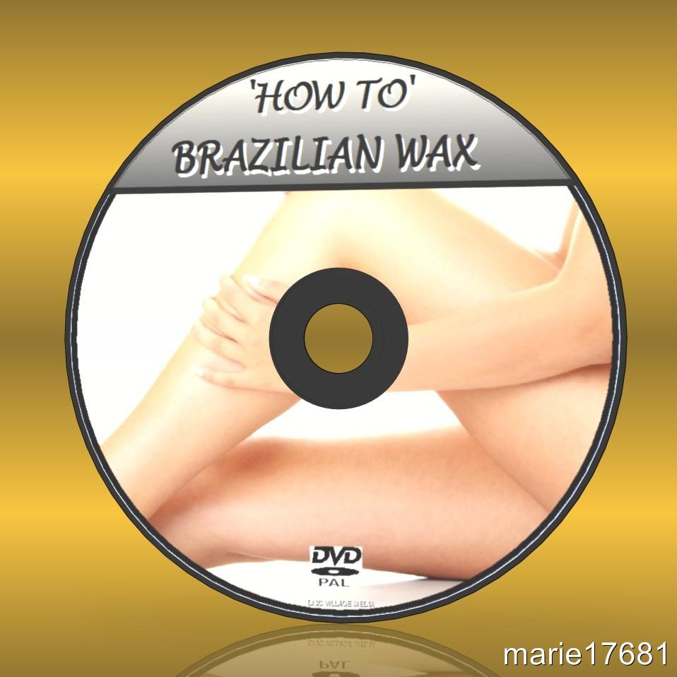 BRAZILIAN WAX VIDEO DVD GUIDE EASY TO FOLLOW BEGINNER