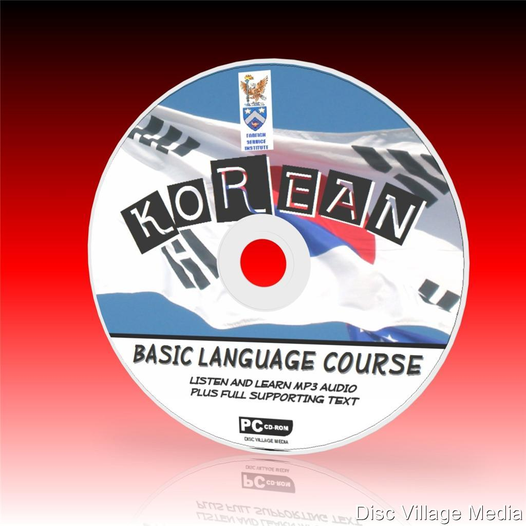Details about LEARN TO SPEAK KOREAN PCCD LANGUAGE COURSE EASY BEGINNER  PROGRAM MP3 + TEXT NEW