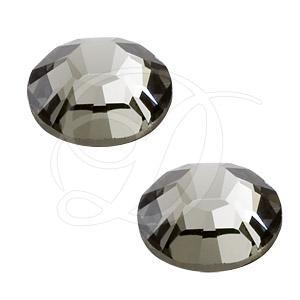black swarovski rhinestones, black swarovski crystals