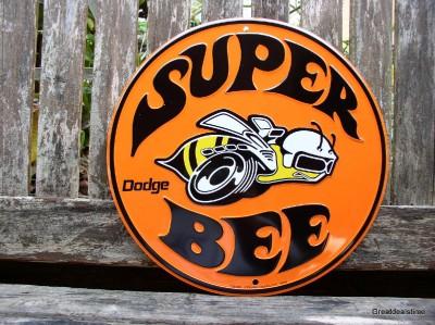 Dodge Super Bee Emblem Logo Vintage Look Quot Man Cave Sign
