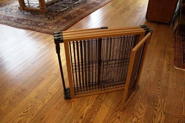 """Perfect Fit Pet Gate Fence Configuration 26 5""""H 6 Panel Dog Puppy Pen Play Yard"""