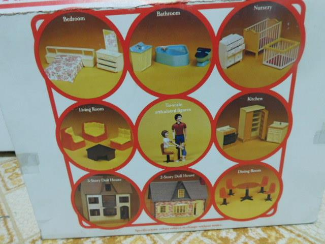 Doll-House-People-Figures-The-Bender-Family-by-Wolverine-Rite-scale-Toys-NOS-Box thumbnail 5