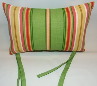 Beach Chair Chaise Lounge Stripe Pattern Head Pillow Ebay