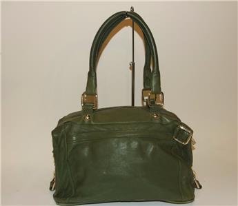 Rebecca Minkoff Morning After Bag Purse Handbag Green