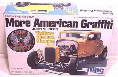 Original More American Graffiti Milners Deuce Coupe