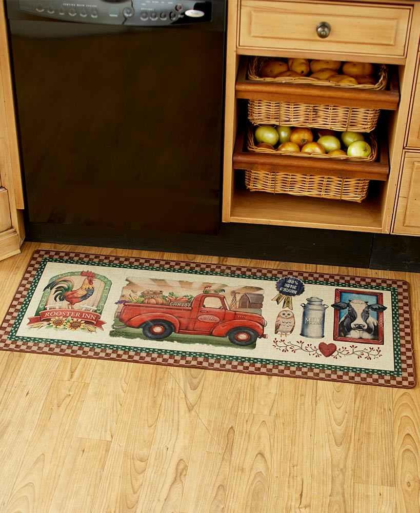 """20/""""x30/"""" HOME FOR THE HOLIDAYS DOOR MAT RUG christmas gingerbread house INDOOR"""