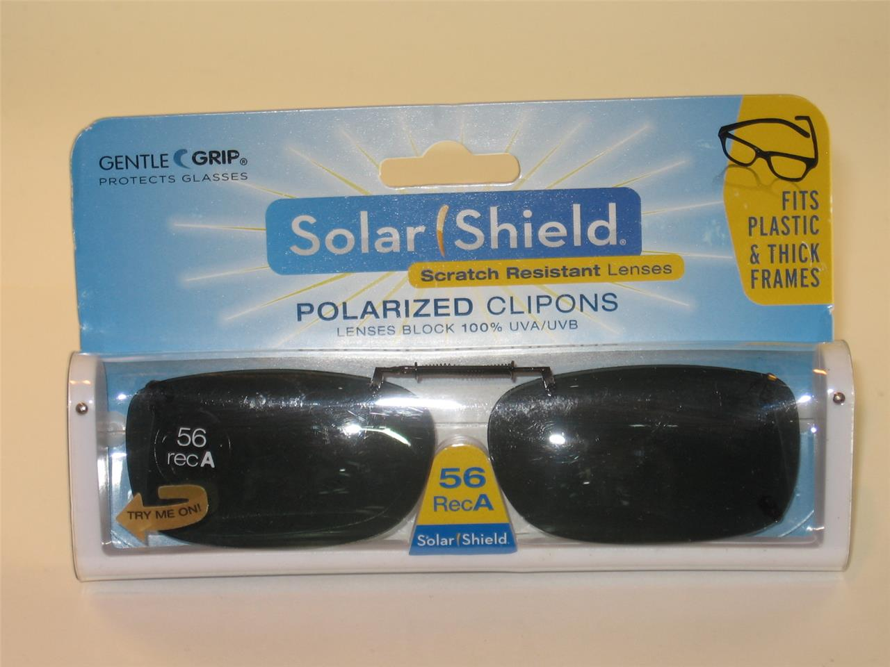 025f5cc82c4 Solar Shield Flip Up Sunglasses 56