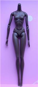 "12/"" Nu Face 3.0 White Skin Tone Articulated Body with Removable Hands~NIP"
