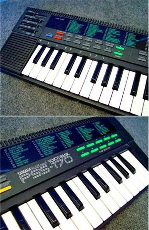 yamaha pss 170 keyboard w sounds drum machine effects synth christmas ebay. Black Bedroom Furniture Sets. Home Design Ideas