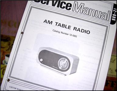 4 Service Manual Realistic Radio Shack Am Fm Vhf Cb Uhf border=