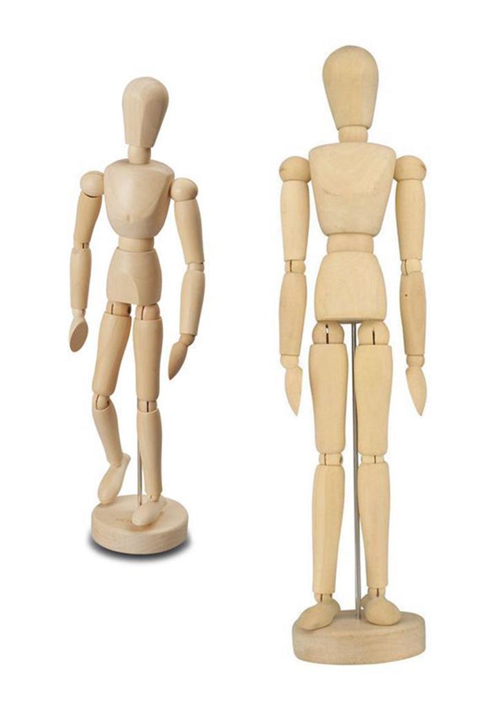 Artista In Legno Manichino Disegno Figure Modello 20 30 Cm Uomo