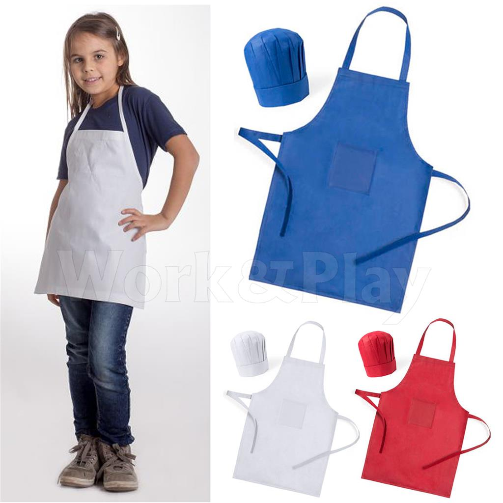 Grembiule Cucina Bambini Fai Da Te.Dettagli Su Grembiule Cucina Bambino Con Cappello Cuoco Masterchef Tasca Set Bimbo Pizzeria