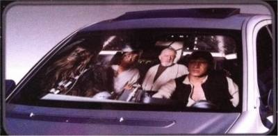 Star Wars Millennium Falcon Car Auto Windshield Sun Shade Sunshade Screen 49dd15d7b9f