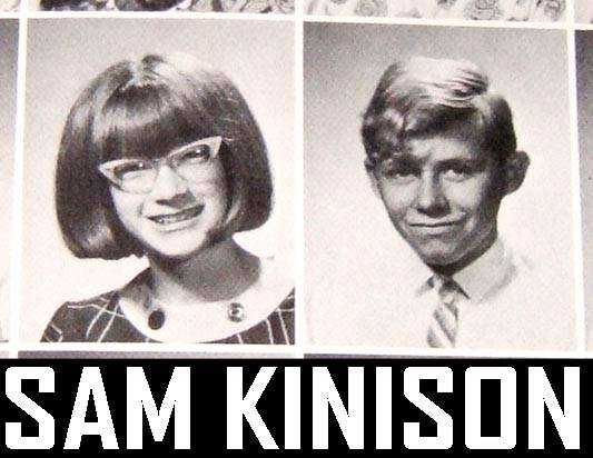 SAM KINISON HIGH SCHOOL YEARBOOK Heard On HOWARD STERN