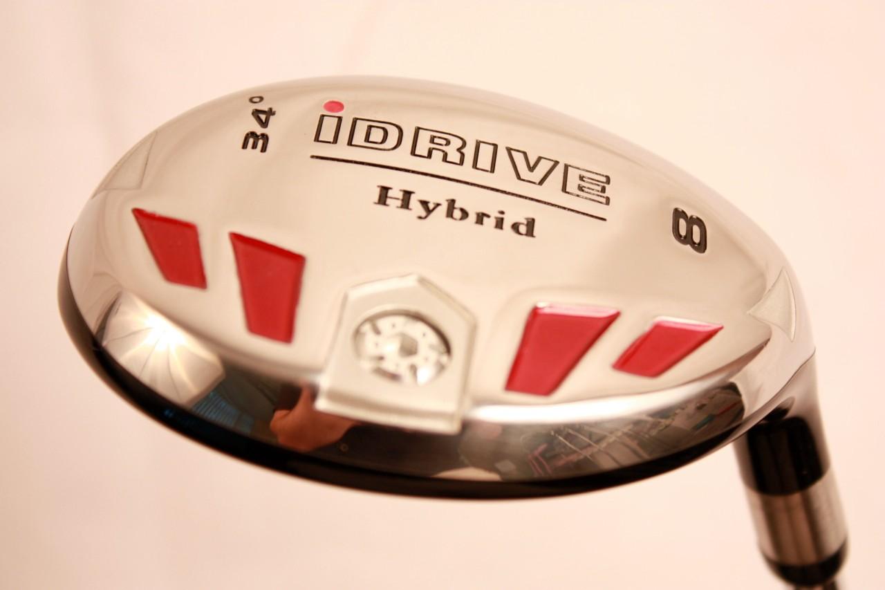 senior idrive custom made 8 hybrid golf clubs graphite a. Black Bedroom Furniture Sets. Home Design Ideas